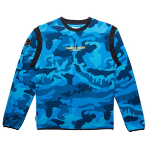 Chabos Shop Pullover Chabos Blau Camouflage